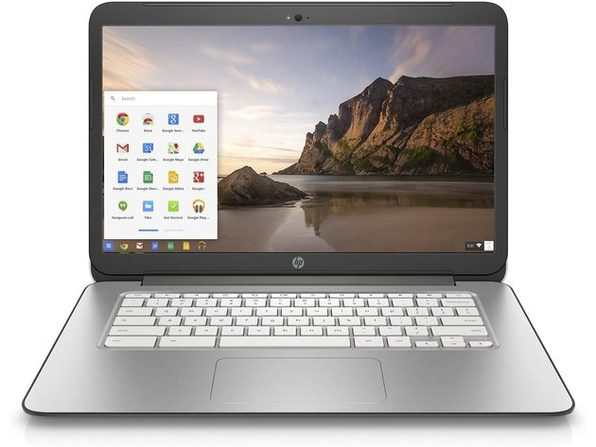 "HP K4K11UA 11"" Chromebook, 2.1GHz nVidia, 2GB RAM, 16GB SSD, Chrome (Renewed)"