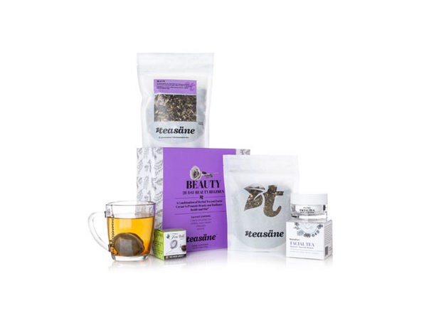 Teasane Herbal Beauty Kit: 28-Day Regimen