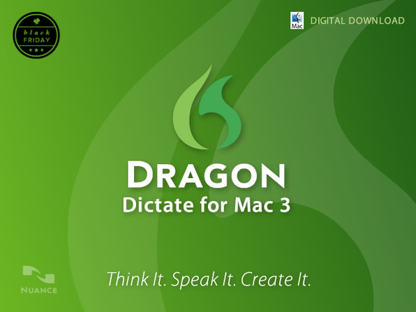 Dragon Dictate For Mac 3 (UK - English Version) - Product Image