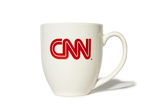 CNN White On-Air Mug