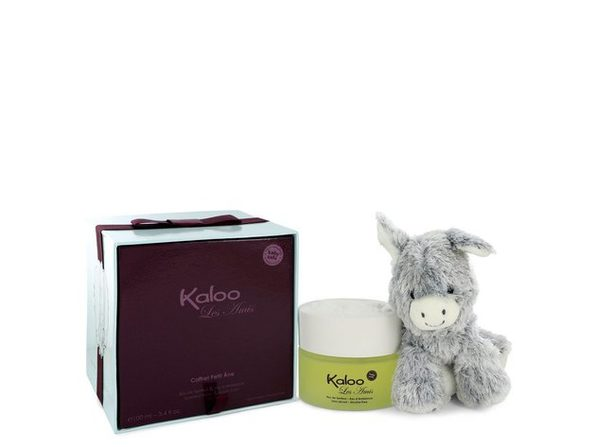 Kaloo Les Amis by Kaloo Eau De Senteur Spray / Room Fragrance Spray (Alcohol Free) + Free Fluffy Donkey 3.4 oz
