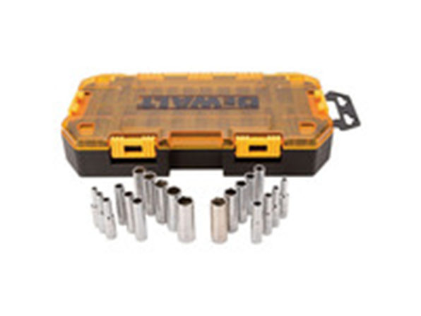 "DEWALT DWMT73811 1/4"" Drive Deep Socket Set - Product Image"