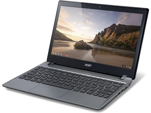 "Acer Chromebook C710-2833 Chromebook, 1.10 GHz Intel Celeron, 2GB DDR3 RAM, 16GB SSD Hard Drive, Chrome, 11"" Screen (Renewed)"