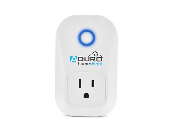 Aduro HomeDome Smart Outlet with Alexa Voice Control