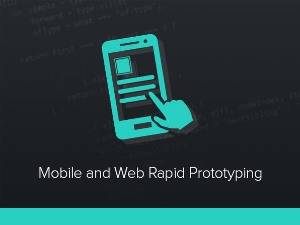 'Mobile & Web Rapid Prototyping - Interaction & Animation' Course - Product Image