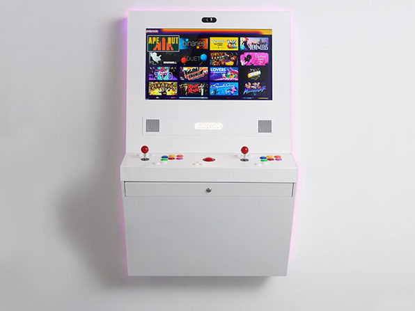 Polycade™ Home: Plug & Play Mounted Arcade