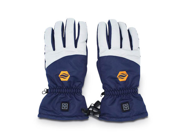 Heated Gloves With Rechargeable Battery: 1 Pair (Medium)