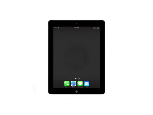 Refurbished iPad 4 16GB Black - Fair Condition - Product Image