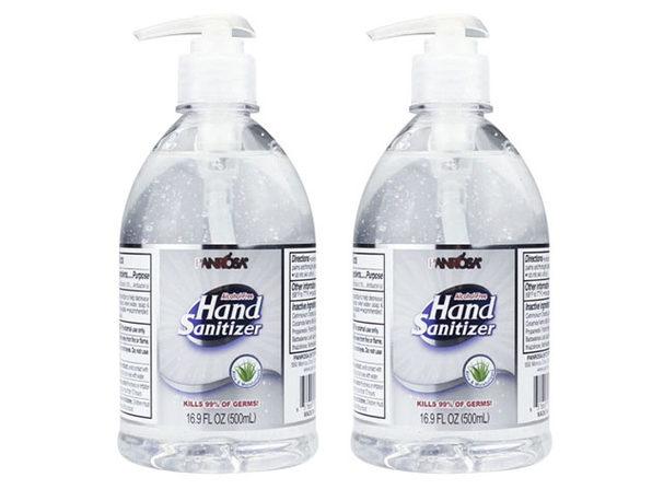 Advance Hand Sanitizer 16.9oz Pump Bottle (2-Pack)