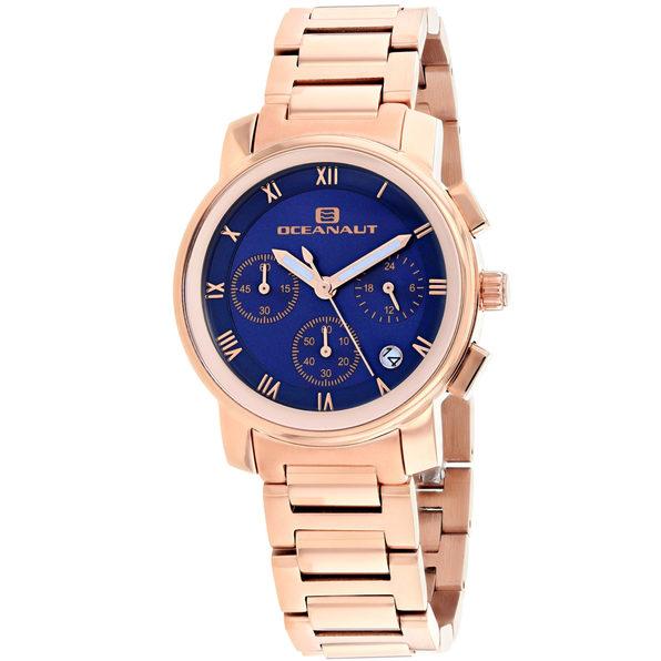 Oceanaut Women's Riviera Blue Dial Watch - OC0635 - Product Image