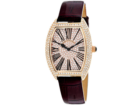 Christian Van Sant Women's Chic Rose gold Dial Watch - CV4843 - Product Image