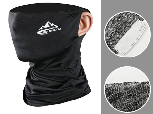 Outdoor Sports Mask - Black - Product Image
