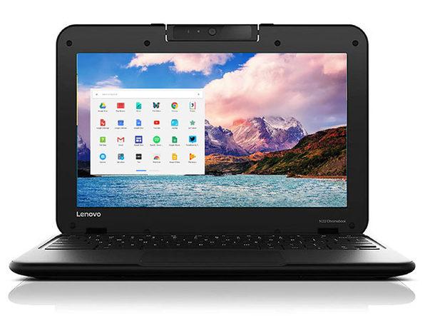 "Lenovo Chromebook N22 11.6"" 4GB - Black (Refurbished, Fair Condition)"