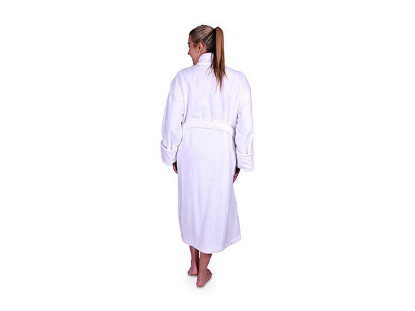 735b61aece Turkish Terry Cotton Shawl Collar Unisex Robe. Bundle up   Keep Cozy with  This Luxuriously Soft Turkish Cotton Robe. Get  1 credit for every  25  spent!