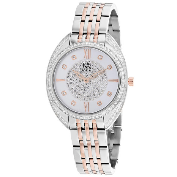 Roberto Bianci Women's Aveta Silver Dial Watch - RB0212