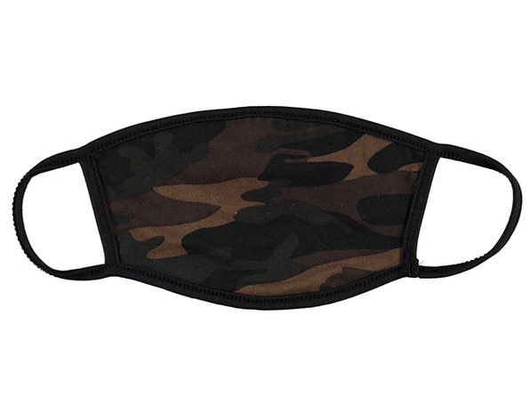 Washable Non-Medical Fabric Face Masks (3-Pack) - Camo Print - Product Image