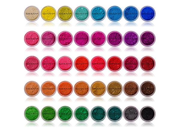 SHANY Eye Sparkle/Eye shadow Loose Powder - Set of 40 Colors