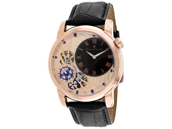 Christian Van Sant Men's Rose gold Dial Watch - CV1546