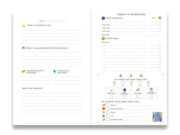 Evo Flow System Planner Citizen Goods