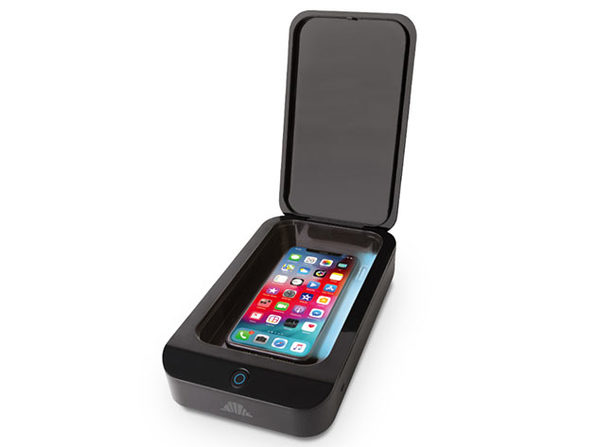 UV Shield: Portable Smart Phone Sanitizer