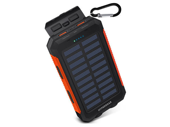 HyperGear Solar 10,000mAh Power Bank