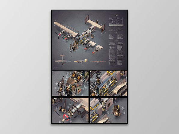 B-24 Poster - Product Image