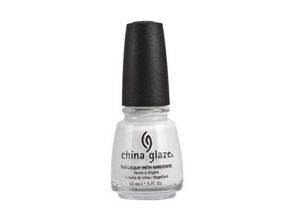 China Glaze 48395 Nail Polish, Moonlight, 0.5 Ounce - White