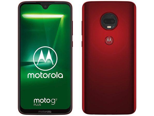 Motorola Moto G7 Plus XT1965 4GB/64GB GSM Only Factory Unlocked LTE Viva Red