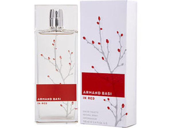 Armand Basi In Red By Armand Basi Edt Spray 3.4 Oz For Women (Package Of 5) - Product Image