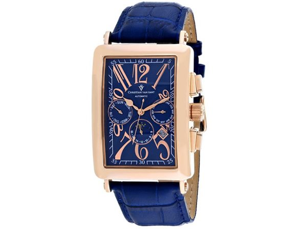 Christian Van Sant Men's Prodigy Blue Dial Watch - CV9142 - Product Image