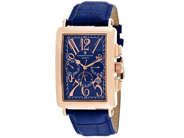 Christian Van Sant Men's Prodigy Blue Dial Watch - CV9142 - Product Image