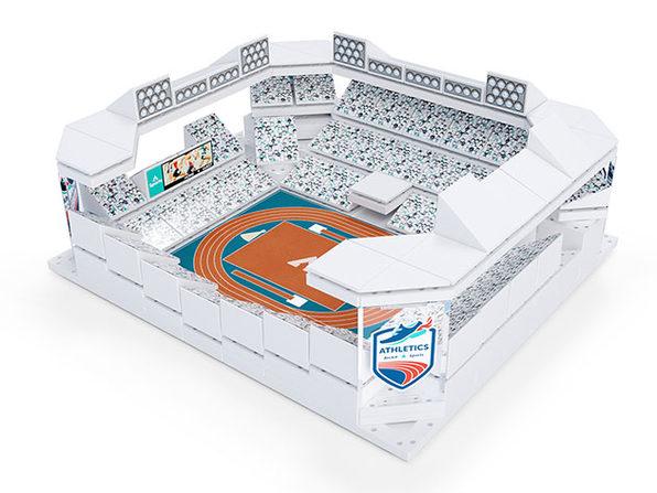 ARCKIT® Multi-Stadium Model Building Kit