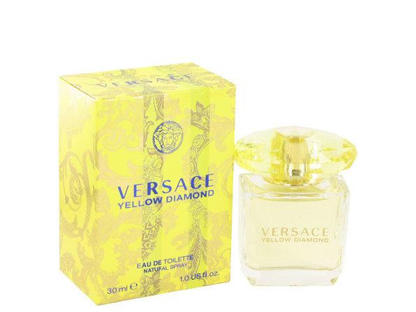 3 Pack Versace Yellow Diamond by Versace Eau De Toilette Spray 1 oz for Women