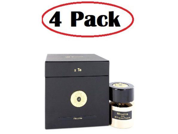 4 Pack of Tiziana Terenzi Afrodite by Tiziana Terenzi Extrait De Parfum Spray 3.38 oz - Product Image