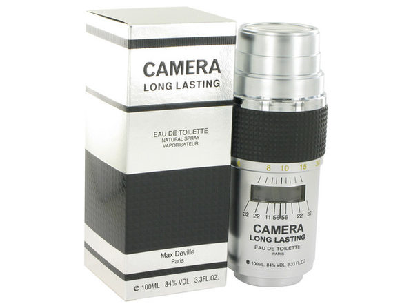 CAMERA LONG LASTING Eau De Toilette Spray 3.4 oz For Men 100% authentic perfect as a gift or just everyday use - Product Image