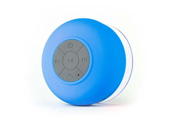 FresheTech Splash Tunes Bluetooth Shower Speaker (Blue)