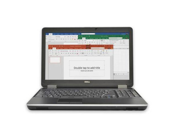 "Dell Latitude E6540 15"" Laptop, 2.6 GHz Intel i7 Dual Core Gen 4, 4GB RAM, 500GB SATA HD, Windows 10 Home 64 Bit (Renewed)"
