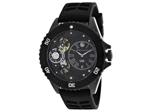 Oceanaut Men's Tide Black Dial Watch OC0991