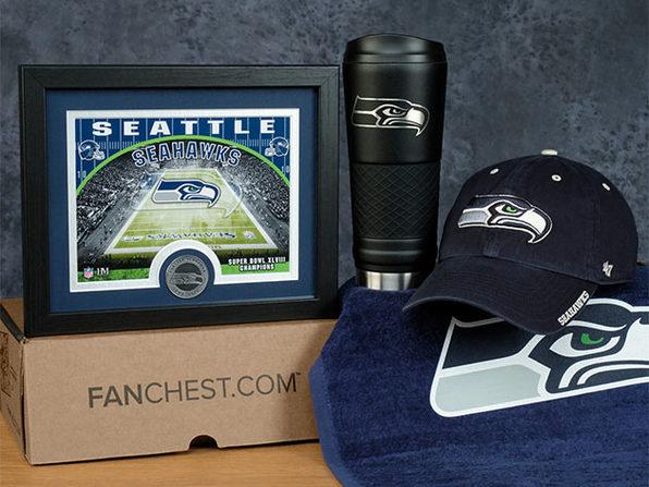 FANCHEST NFL Deluxe Box (Seattle Seahawks)