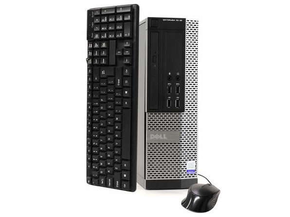 Dell OptiPlex 7020 Desktop PC, 3.2GHz Intel i5 Quad Core Gen 4, 16GB RAM, 1TB SATA HD, Windows 10 Professional 64 bit (Refurbished Grade B)
