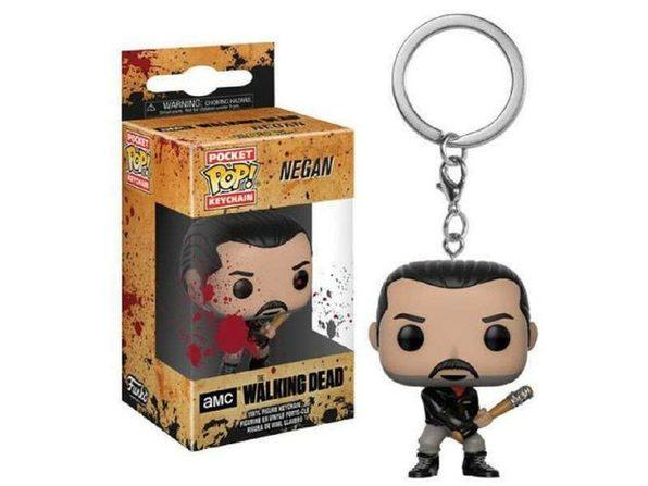 Funko Pop! Keychain The Walking Dead Negan Vinyl Figure