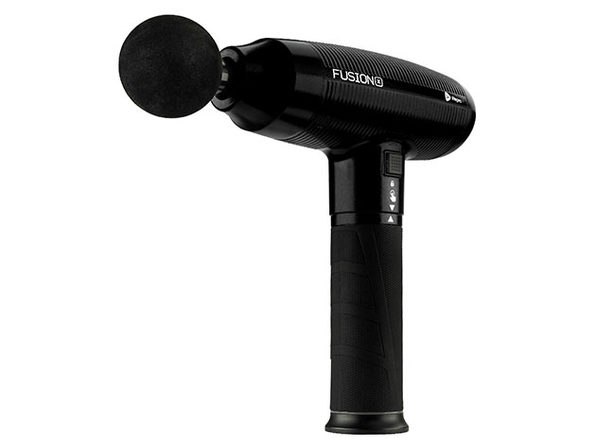 FusionX Heated Massage Gun (Black)