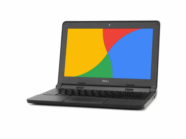 "Dell 3120 11"" ChromeBook , 2.16GHz Intel Celeron, 4GB RAM, 16GB SSD, Chrome (Renewed)"