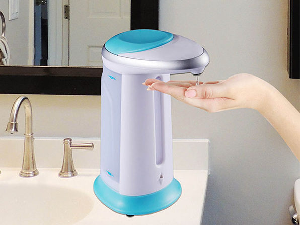 Colored Hands-Free Automatic Liquid Dispenser