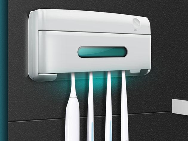 UV-C Toothbrush Holder & Sterilizer
