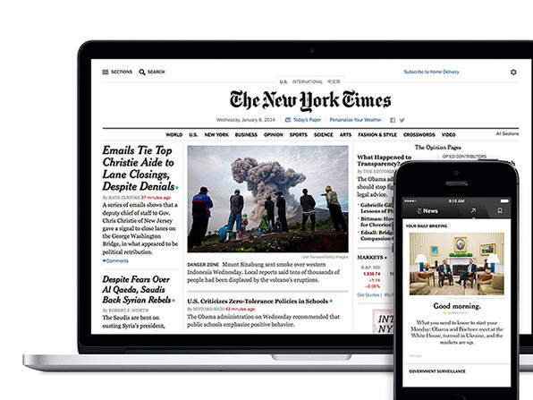 Added Bonus: New York Times Digital Subscription - Product Image