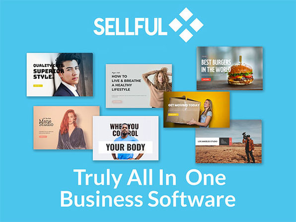 Sellful All-in-One Business Software: Commerce Agency Plan (Lifetime)