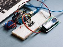 Dot Matrix LED Display Interface with PIC Microcontroller - Product Image