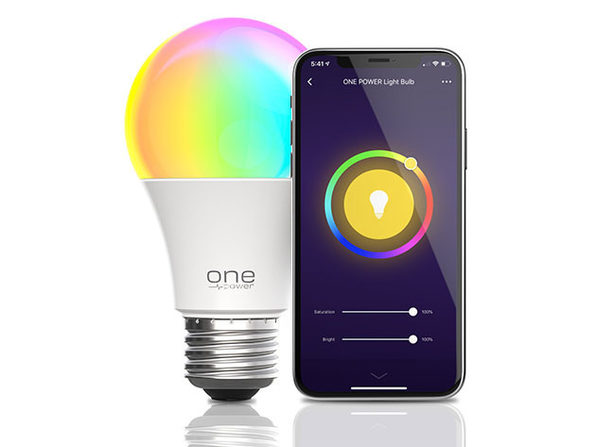 Color Changing Smart A19 LED Light Bulbs: 2-Pack