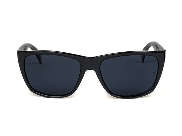 05414a97865b1 Superior Matte Black Polarized Floating Sunglasses